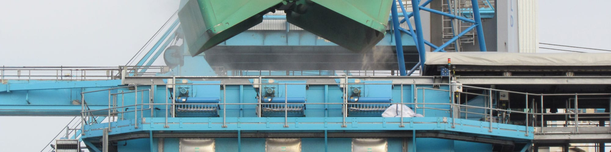 Dust Extraction At Liverpool Bulk Terminal