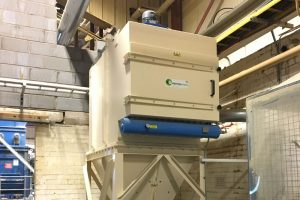 Industrial Dust Collector System - Econojet