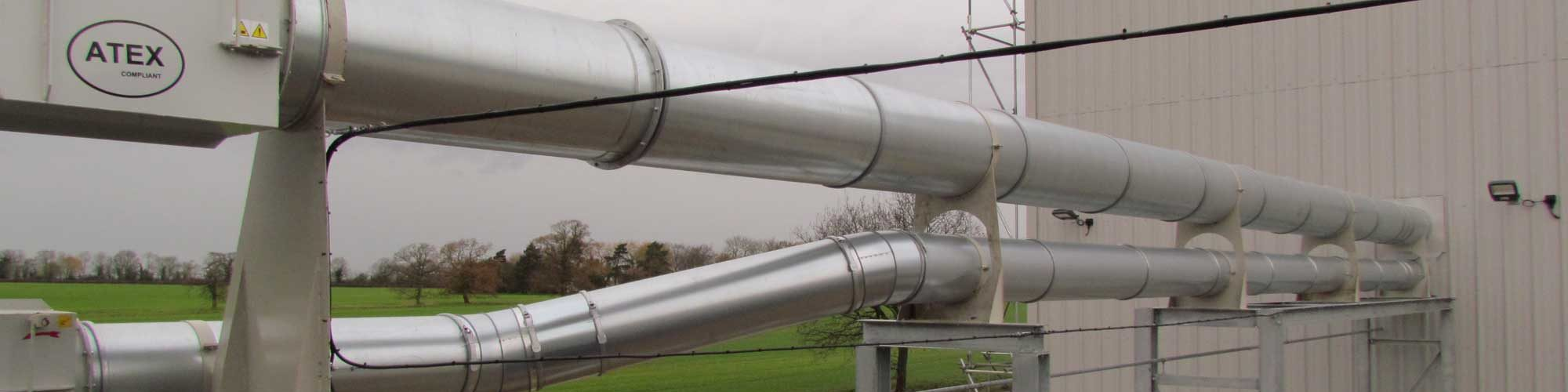Industrial Dust Extraction Ducting